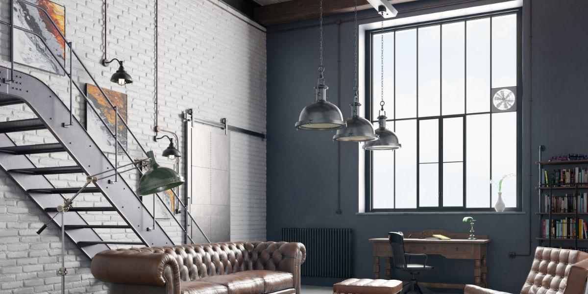 La verrière est directement inspirée des anciens ateliers trabsformés en loft